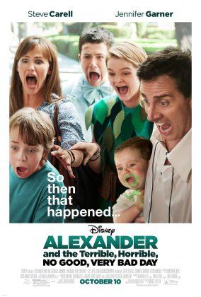 Affiche Poster alexandre journee epouvantablement horrible affreuse alexander good very bad day disney