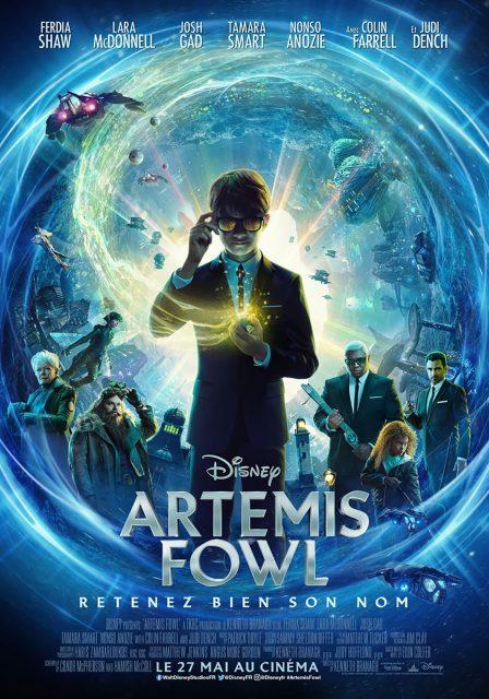 Affiche Poster Artemis Fowl disney