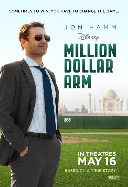 Affiche Poster million dollar arm disney