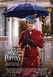 Affiche Poster Retour Mary Poppins Returns Disney