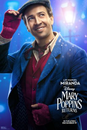 Affiche poster retour returns mary poppins disney