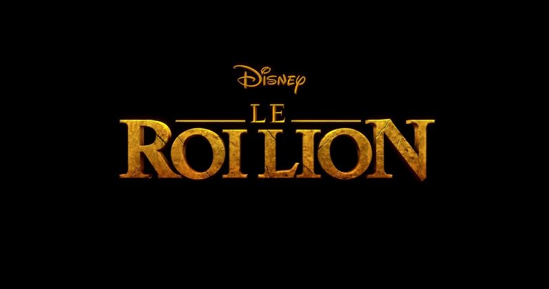 Logo Roi Lion King Disney