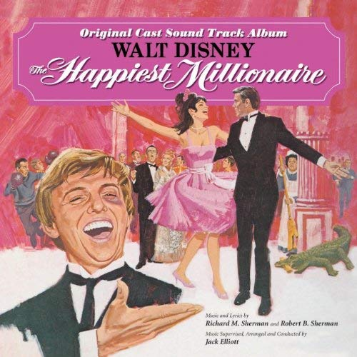 bande originale soundtrack ost score plus heureux milliardaires happiest millionaire disney