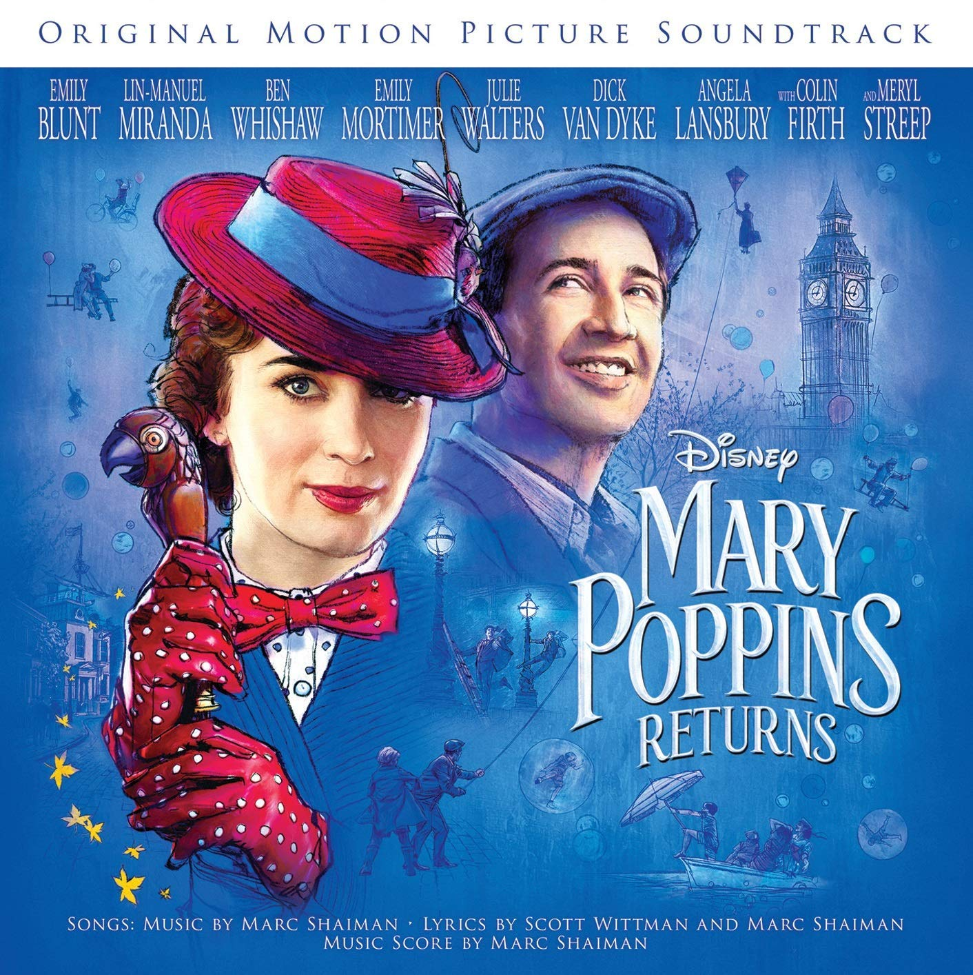 bande originale soundtrack ost score retour returns mary poppins disney