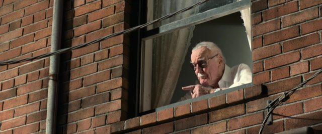 stan lee spider man homecoming marvel disney cameo