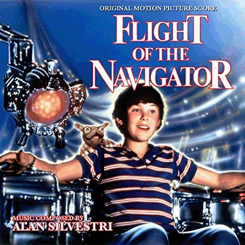 bande originale soundtrack ost score vol navigateur flight navigator disney