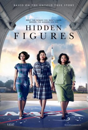 Affiche Poster figures ombre hidden disney 20th century fox