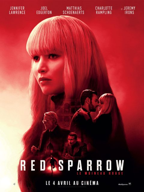 Affiche Poster red sparrow disney 20th century fox