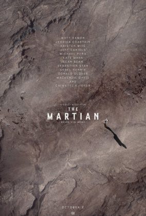 Affiche Poster seul mars martian disney 20th century fox