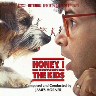 bande originale soundtrack ost score chérie honey rétréci gosse shrunk kids disney