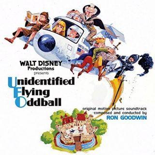 bande originale soundtrack ost score  cosmonaute roi arthur spaceman king  Unidentified Flying Oddball disney