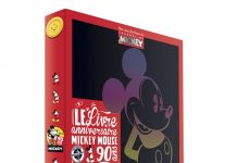 livre anniversaire mickey mouse disney hachette 90 ans