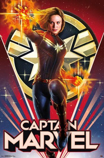 Affiche Poster captain marvel disney marvel