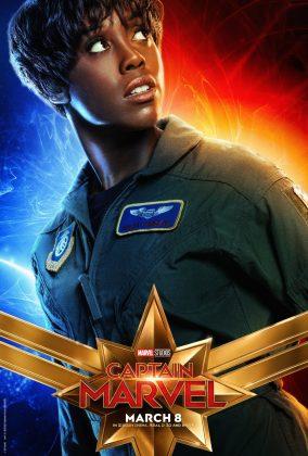 Affiche poster captain marvel disney