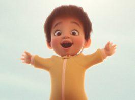 Affiche Poster float disney pixar