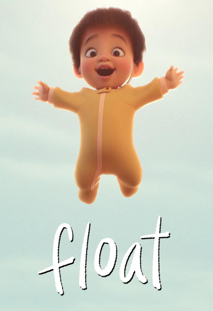 affiche poster envol float disney pixar sparkshorts