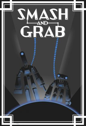 Affiche poster smash grab disney pixar