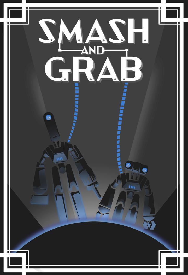 affiche poster smash grav écraser ramasser disney pixar sparkshorts