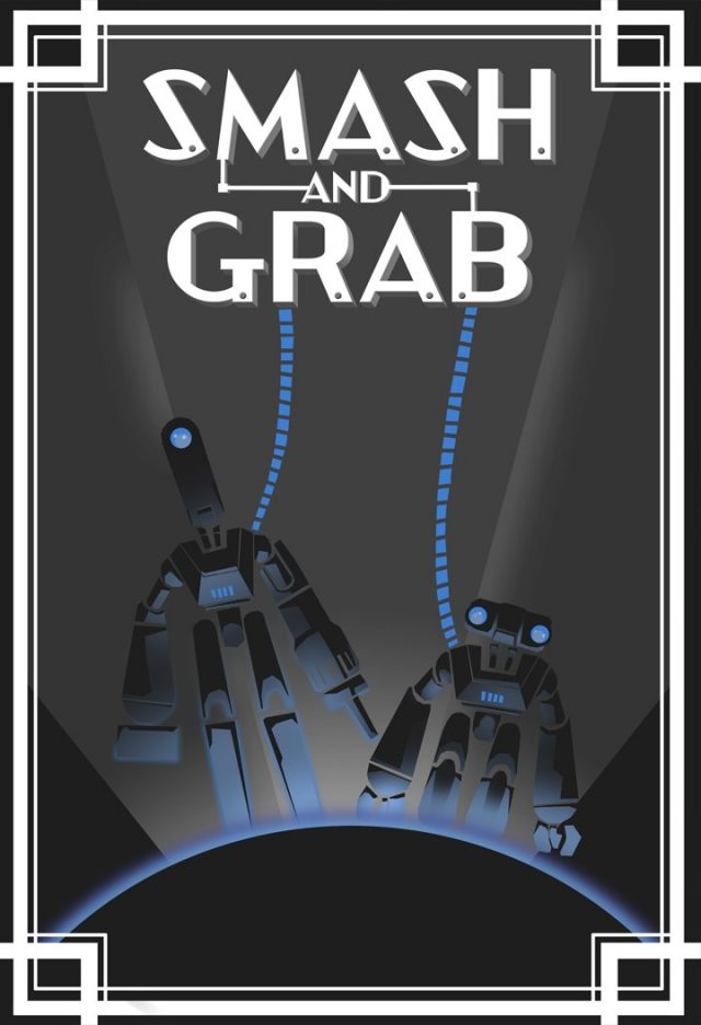 affiche smash grab disney pixar