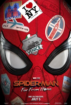Affiche Poster Spider-Man far from home DIsney Marvel