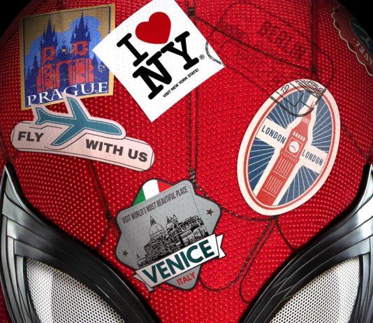 Affiche Poster Spider-Man far from home DIsney Marvel