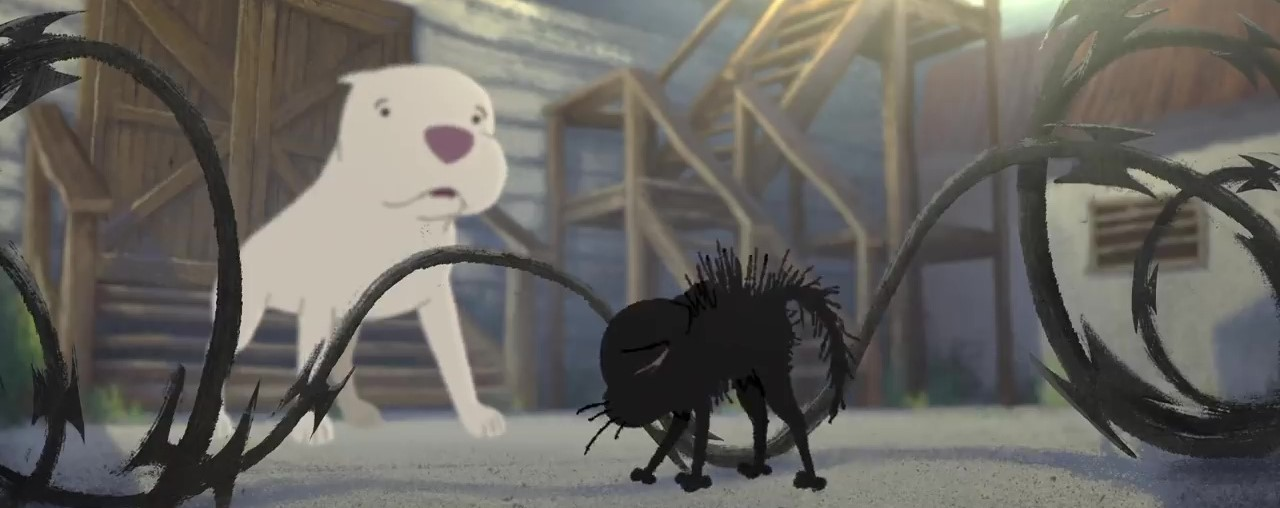 image chatbull kitbull disney pixar sparkshorts