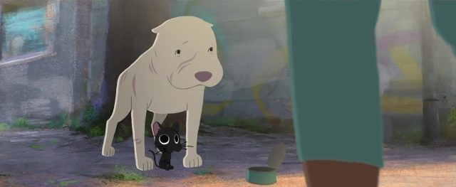 capture kitbull disney pixar sparkshorts