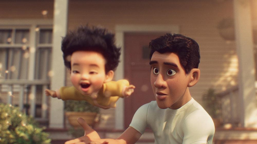 image envol float disney pixar sparkshorts