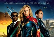 Affiche Poster Captain Marvel disney
