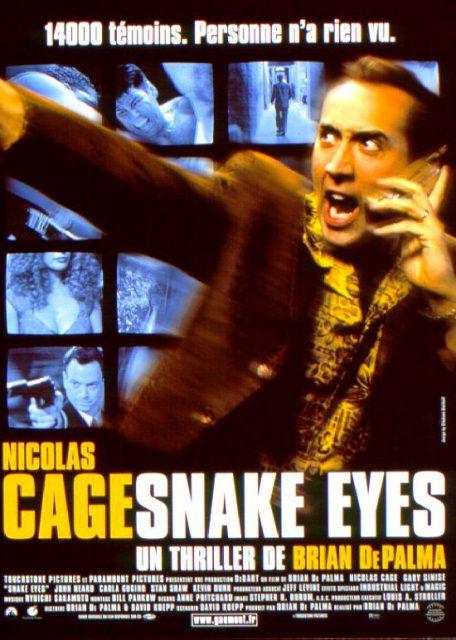 Affiche Poster snake eyes disney touchstone