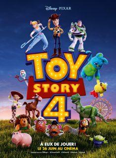 Affiche Poster Pixar Disney Toy story 4