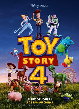 Affiche Poster Pixar Disney Toy story 4
