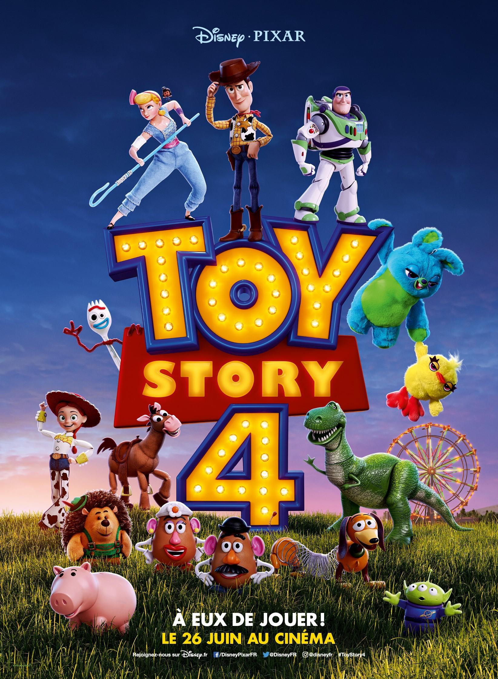 """Résultat de recherche d'images pour """"toy story 4 affiche"""""""