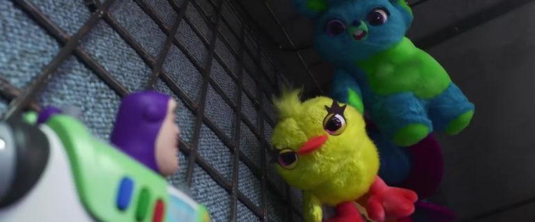 "Ducky, personnage dans ""Toy Story 4""."