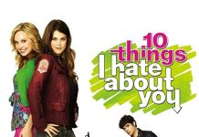 Affiche Poster 10 things hate about you série tv disney abc