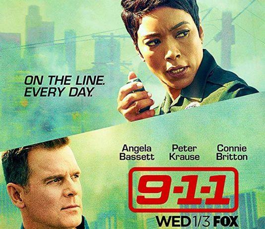 Affiche Poster 911 9-1-1 série disney fox