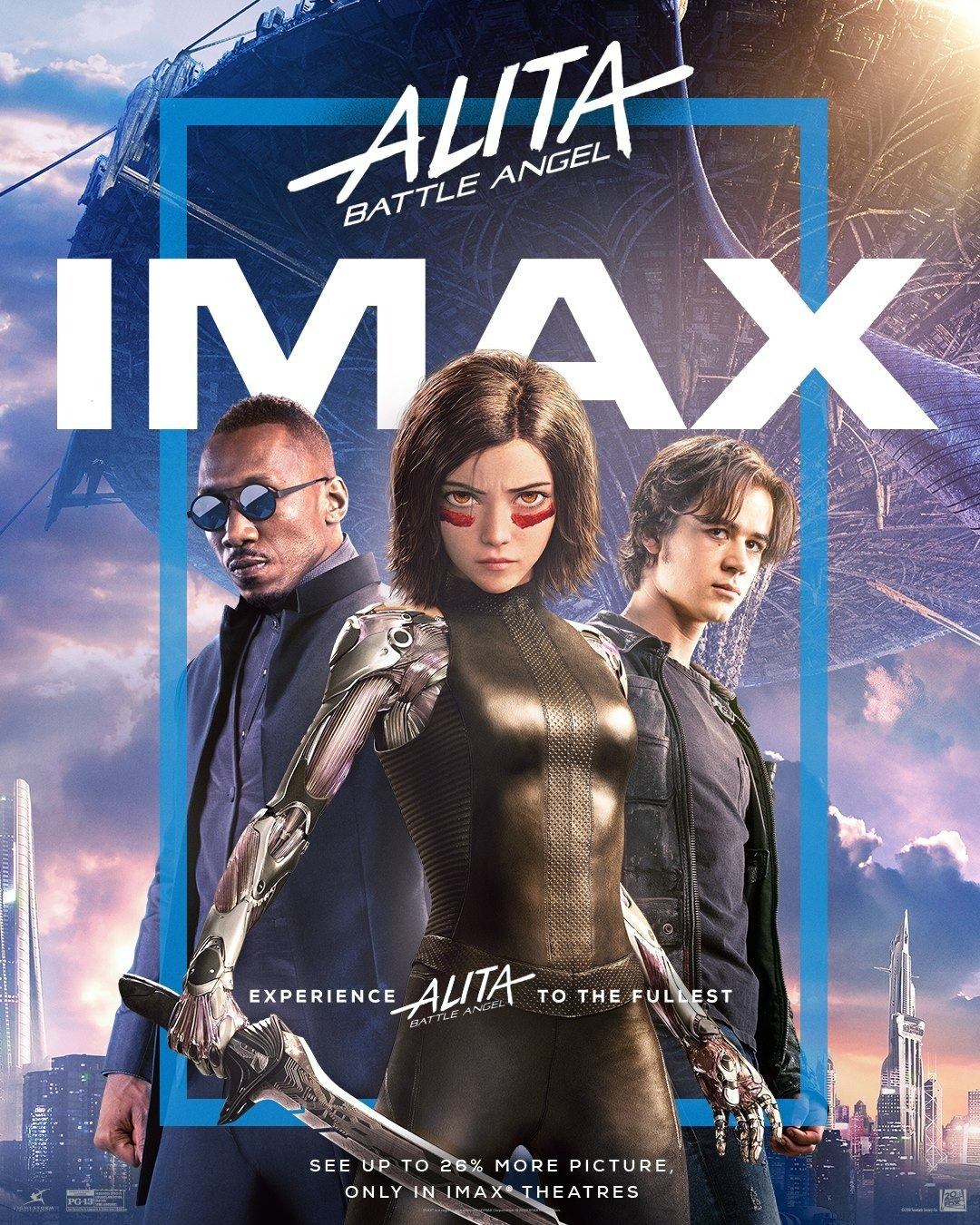Affiche Poster alita battle angel disney 20th century fox
