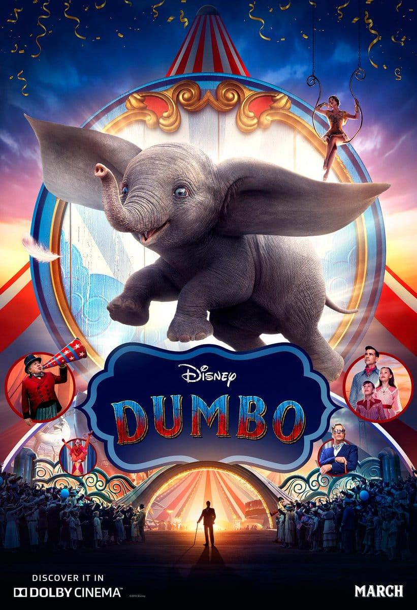 Affiche Poster dumbo disney