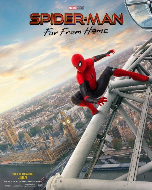 Affiche Poster Spider man far from home disney marvel