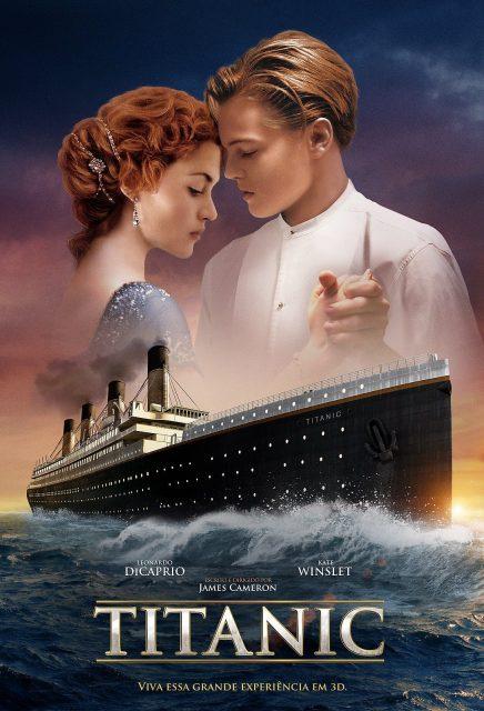 Affiche Poster Titanic disney 20th century fox