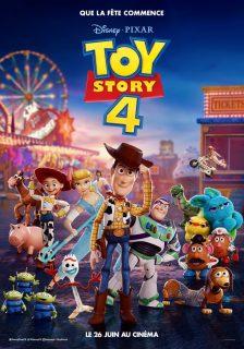Affiche Poster toy story 4 disney pîxar