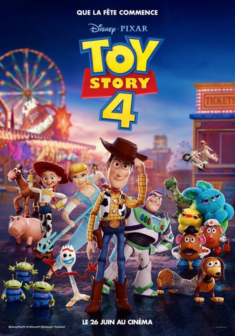 """""""Toy Story 4"""" : son affiche française et sa bande-annonce."""