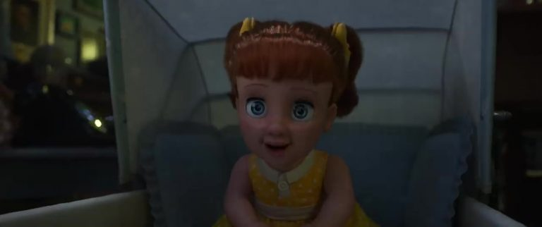 "Gabby Gabby, personnage dans ""Toy Story 4""."