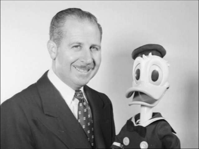 clarence nash donald disney