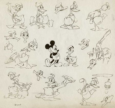 Donald duck 1936 disney