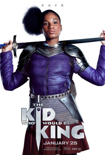 Affiche Poster alex destin roi Kid Who Would King disney 20th century fox