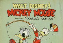 Affiche Poster autruche Ostrich donald disney