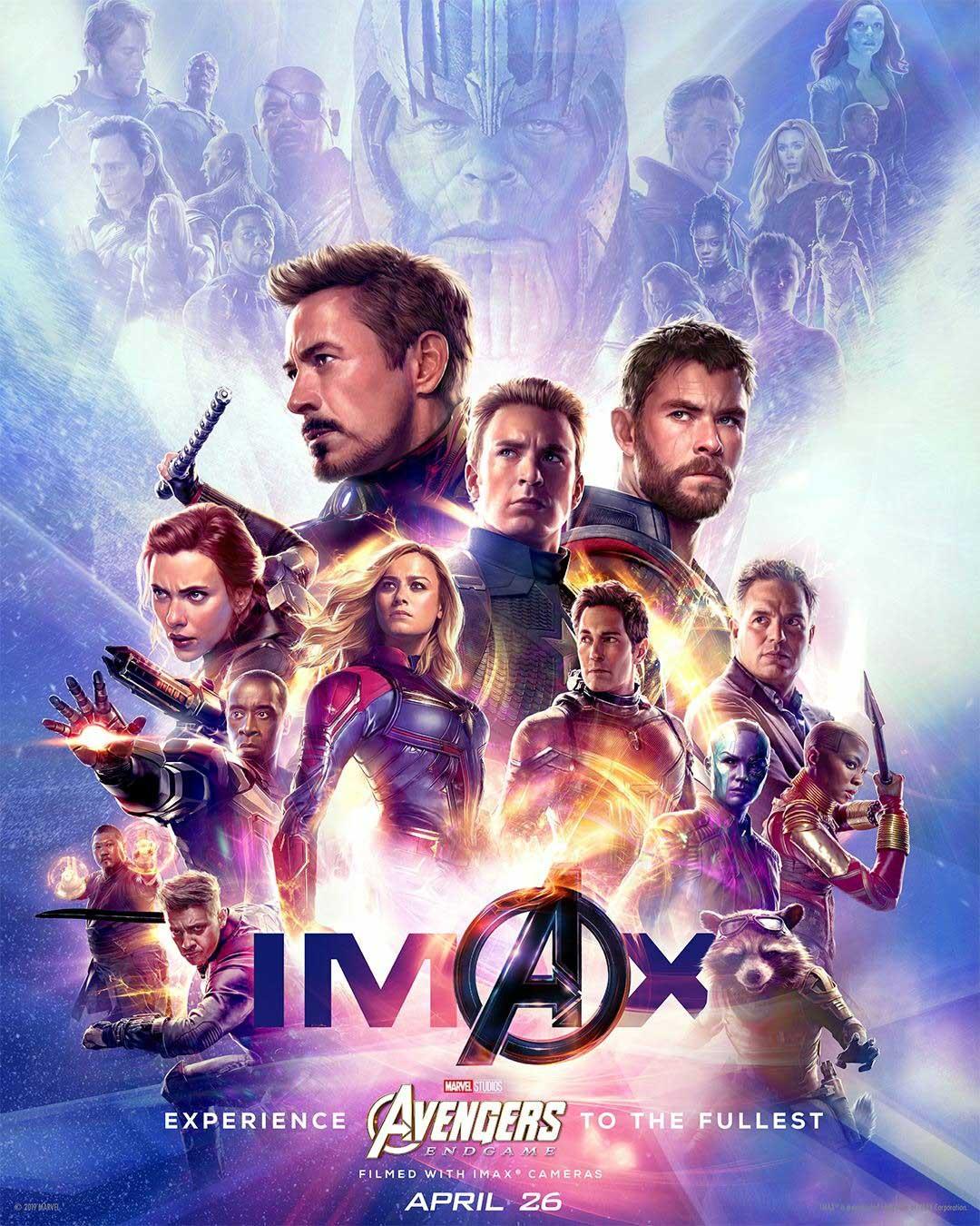 Affiche Poster Avengers endgame disney marvel