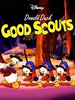 Affiche Poster bons scouts good donald disney