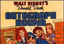Affiche Poster chasseur hound autographe disney donald